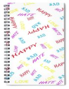 Quoted Emotions Spiral Notebook
