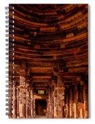 Qutub Minar Spiral Notebook