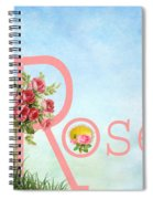 R For Rose Spiral Notebook