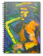 R-night Jam Spiral Notebook