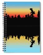 Rabbit Blanket Lake Spiral Notebook