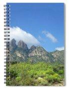 Organ Mountains Rabbit Ears Spiral Notebook