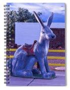 Rabbit Ride Route 66 Spiral Notebook