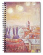 Rabbits In Rome Spiral Notebook
