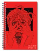 Rabid Breathing Red Variant Spiral Notebook