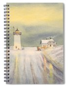 Race Point Lighthouse Provincetown Spiral Notebook