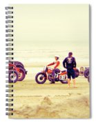 Race Time Spiral Notebook