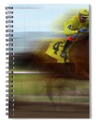 Racetrack Dreams 1 Spiral Notebook