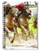 Racetrack Dreams 11 Spiral Notebook