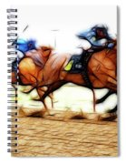 Racetrack Dreams 7 Spiral Notebook