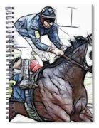Racetrack Dreams 8 Spiral Notebook