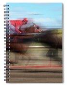 Racetrack Dreams  Spiral Notebook