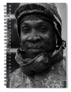 Racetrack Heroes 8 Spiral Notebook