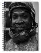 Racetrack Heroes 8 Spiral Notebook