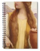 Rachel At The Well Henry Ryland Spiral Notebook