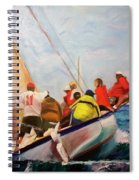 Racing Abaco Rage Spiral Notebook