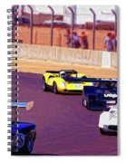 Racing At Laguna Seca Spiral Notebook