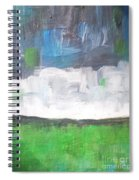 Racing Clouds Spiral Notebook