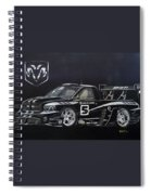 Racing Dodge Pickup Spiral Notebook