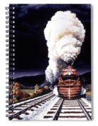 Racing The Storm Spiral Notebook