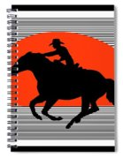 Racing The Wind Spiral Notebook