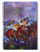 Racing With Ghosts Spiral Notebook