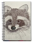 Racoon Spiral Notebook