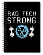Rad Tech Strong Radiology Workout Spiral Notebook