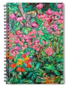 Radford Flower Garden Spiral Notebook