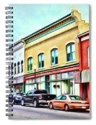 Radford Virginia - Along Main Street Spiral Notebook