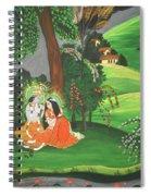 Radha Krishna  Spiral Notebook