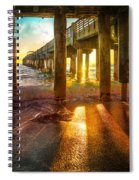 Radiant Rays Spiral Notebook