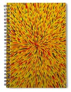 Radiation Yellow  Spiral Notebook