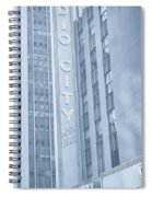 Radio City Cool Toned Spiral Notebook