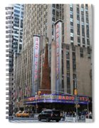 Radio City Music Hall New York City Spiral Notebook