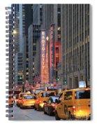 Radio City Music Hall New York Spiral Notebook