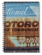 Radio Communications Spiral Notebook