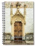 Radovljica Church Door Spiral Notebook
