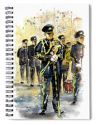 Raf Military Parade In York Spiral Notebook