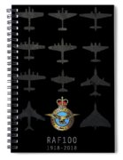 Raf100 - The Bombers Spiral Notebook