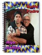 Raffo-raffito Spiral Notebook