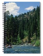 Rafting Spiral Notebook