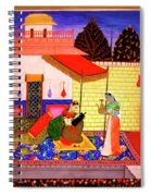 Ragamala Painting Spiral Notebook