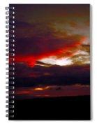 Rage - Sunset Spiral Notebook
