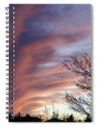 Raging Sky Spiral Notebook