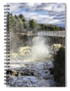 Raging Water Spiral Notebook