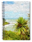 Raglan Coastline Spiral Notebook