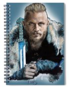Ragnar Lothbrok Spiral Notebook