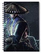 Raiden - Mortal Kombat Spiral Notebook