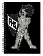 Raider Spiral Notebook